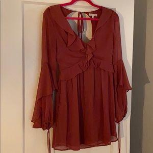 GB Ruffle Detail Dress